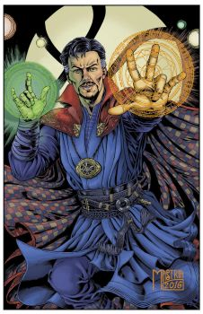 Dr.strange finish by AntonioMastria