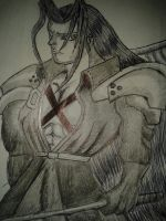 The One Winged Angel - Sephiroth by WillOTheWhisp