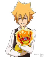 Ask - Giotto - Vongola and lions by Venera-Taro