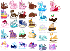 Bunbons for sell ( OPEN ) by JessyB-Design