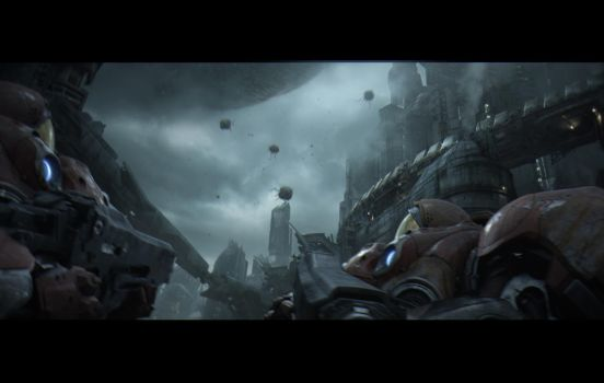 Heart of the swarm matte shots by leventep