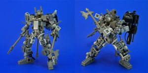 Lego - JR Weaponset A by Lalam24