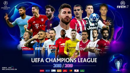 CHAMPIONS LEAGUE 2019 WALLPAPER by jafarjeef