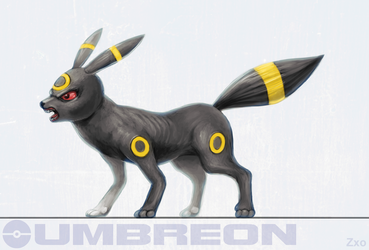 Umbreon by Zxoqwikl