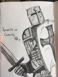 Knight of old  by GentlestGiant