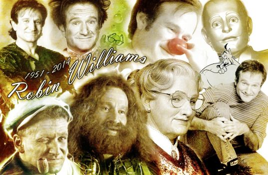 Robin Williams by DrAlpha