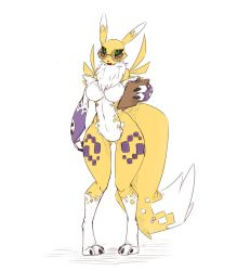 Data, the Librarian Renamon by Wouhlven
