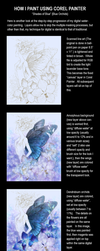 Shades of Blue WIPs by aruarian-dancer
