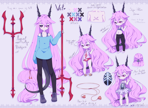 Vel character design by madichams