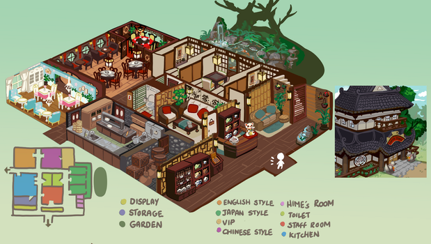 EE : Teahouse by Yen-Cat