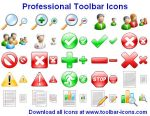 Professional Toolbar Icons by Iconoman
