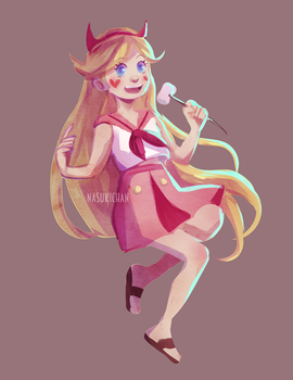 Star Butterfly - Sailor outfit by Nasuki100