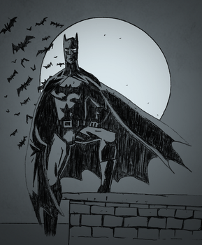 The Dark Knight by Kyber02