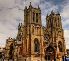 Bristol cathedral HDR by AngiWallace