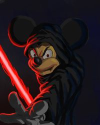 Mickey is sith by pprimuss