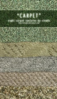 Carpet Texture Pack by cloaks