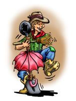 Dancing Cowboy by sethness