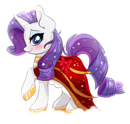 A Holiday Gown by RavenSunArt