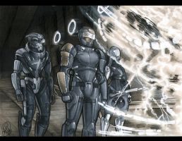 Mass Effect: Meeting Vigil by AdamWithers