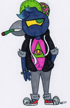 Stoner Crow - NITW by TANKBELLY