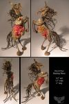 Devil Claw Bucking Horse by ART-fromthe-HEART