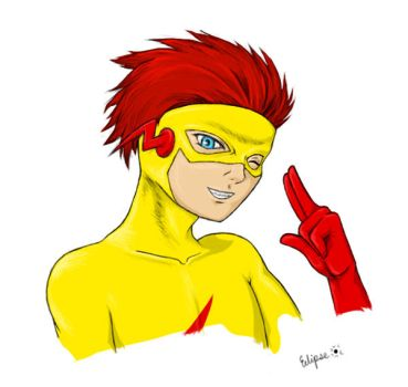 Kid Flash: Wally West by Tsayan