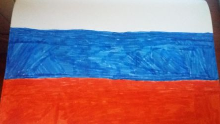 Russian flag by pokemaster1296