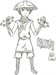 Avatar Aang-Earth by quidditchchick004