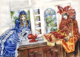 French dolls by Ascendead--Master