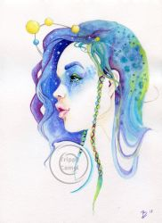 Daydream -space by WhiteLivia