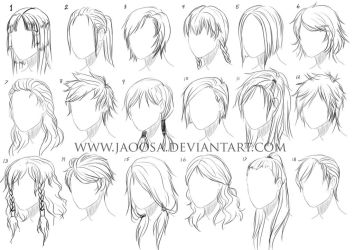 Hairstyles 02 by jaoosa