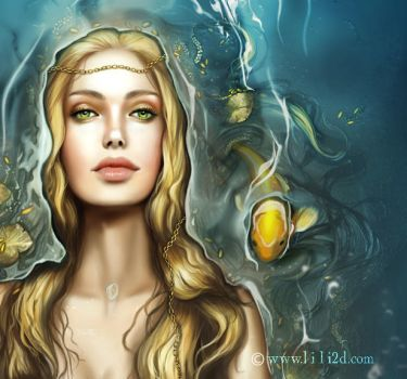 Ondine Close-up by d-liliane