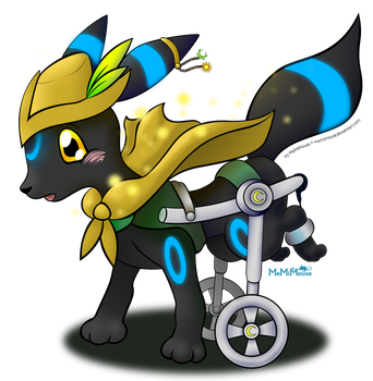 Shiny Umbreon Mage Entry by MeMiMouse