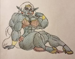 Sexy Queen of the Drow by jarhead300099