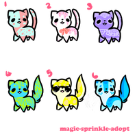 Kitty Adopts 2 //OPEN// by magic-sprinkle-adopt
