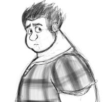 Ralph from wreck it ralph by marltonder