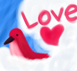 Love Bird by maplexsonic