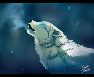 Howling by TheMysticWolf