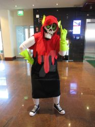 My Lord Hater cosplay by SnappySnape