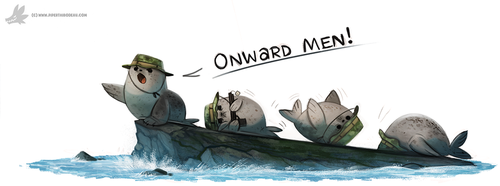 Daily Painting #929. Navy Seals by Cryptid-Creations
