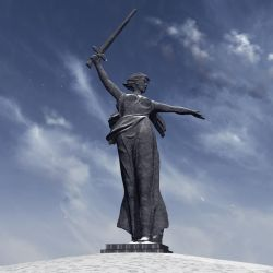 The Motherland Calls! by xmas-kitty