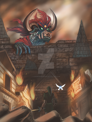 Attack On Hyrule by aznswordmaster1