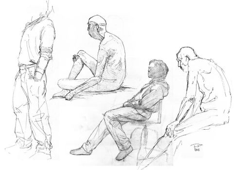 More life 3 sketches by Pyrosity