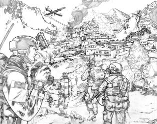 Secret Military Comics Pitch by joshhood