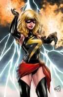 Ms Marvel 2014 Colors by hanzozuken