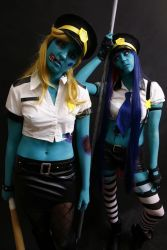 Zombie Officers - Panty and Stocking by wtfproductionsskits