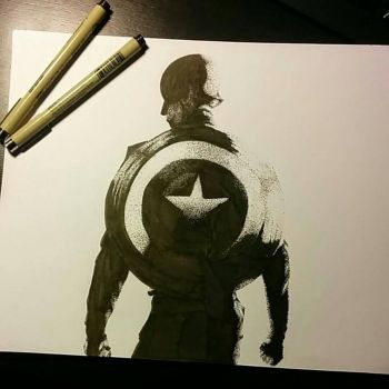 Captain America by ClaiireTlr