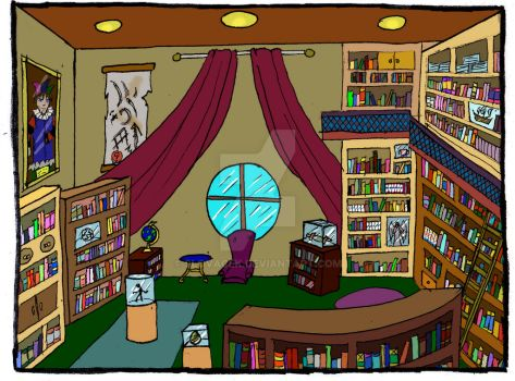 The Library by Slovacek