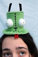 Tiny Top Hat: Gir by TinyTopHats