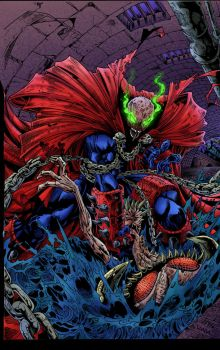Spawn (Color practice) by tdjulian